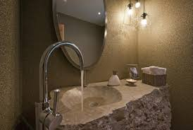 stone tile for bathroom elegant dark oak master bath design ideas