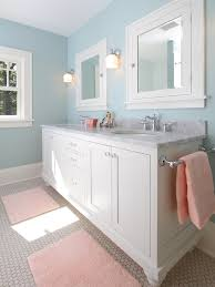 traditional blue bathroom design pictures remodel decor and