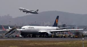 bureau lufthansa mumbai flights disrupted after lufthansa tyre burst bw businessworld