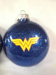 justice league goes glam for santa ornaments ornament