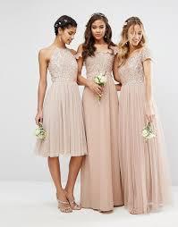 bridesmaid dresses asos beaded metallic and sequined bridesmaid dresses