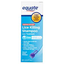 equate lice treatment shampoo 6 fl oz walmart com