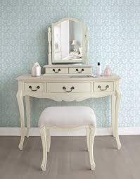 dressing table with mirror and drawers juliette shabby chic chagne trinket mirror cream dressing table