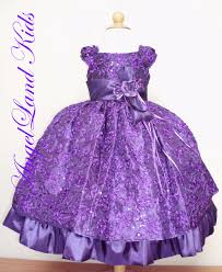beautiful affordable toddler girls purple easter dresses for less