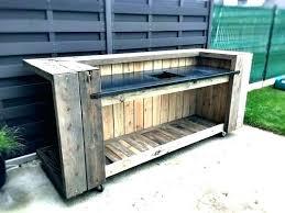 fabriquer cuisine exterieure cuisine exterieure bois meuble cuisine bois design cuisine meuble
