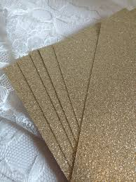 wedding program card stock glitter cardstock 5x7 for diy wedding or quince invitations