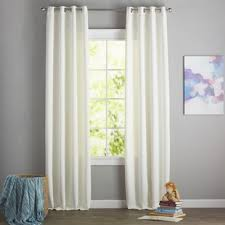 White Window Curtains White Curtains Drapes You Ll Wayfair
