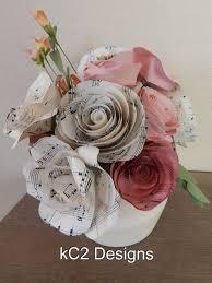 best 25 paper flower arrangements ideas on pinterest single