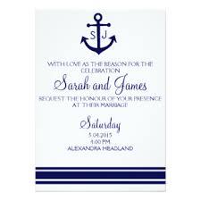 nautical wedding invitations nautical wedding invitations announcements zazzle