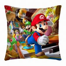 Games Roomcom - super mario bros pillow mlpw3401 super mario bros and mario bros