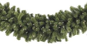 lighted garland sequoia fir prelit commercial