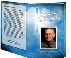 Funeral Programs Online Funeral Programs Funeral Program Templates