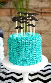 mustache birthday cake 10 do it yourself birthday cakes for boys