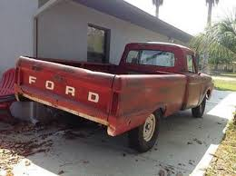 1985 Ford F100 1964 Ford In Florida For Sale Used Cars On Buysellsearch
