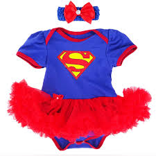 12 Months Halloween Costumes Aliexpress Buy Baby Superhero Tutu Dresses Headhand