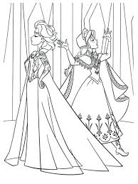 coloring pages frozen elsa anna coloring pages frozen elsa