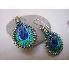 thread earrings silk thread earrings in jaipur rajasthan manufacturers