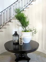 round hall table entry tropical with balinese entry flower