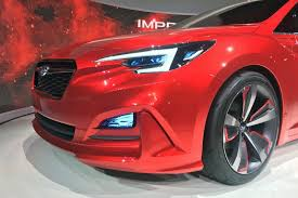 2017 subaru impreza hatchback red moment of truth 2017 subaru impreza production vs concept