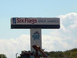Six Flags Locations File Six Flags Great America 2006 Old Sign Jpg Wikimedia Commons