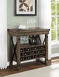 Home Bar Furniture by Reclaimed Wood Bar Cabinet Wb Designs