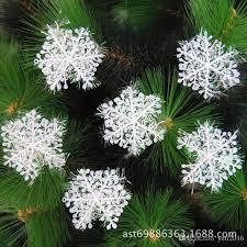 wholesale wholesale tree snowflake ornaments white