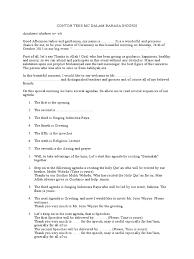contoh teks mc dalam bahasa inggris inggrisonline c0m docx