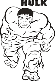 coloring pages of hulk free printable hulk coloring pages for kids