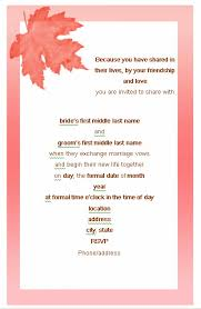 wedding invitations letter simple invitation wedding wedding