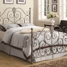 Rod Iron Headboard Bedroom Ideas Large Bed With Wrought Iron Headboard Wallpapers