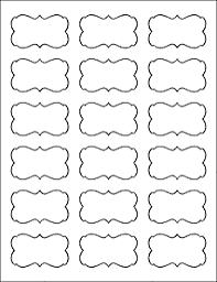 printable decorative labels templates radiodigital co