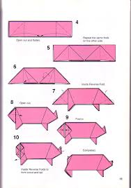simple pig origami 1 papes origami