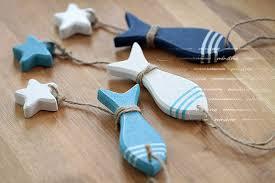 aibei 3d stickers mediterranean style fish hung 3pcs set nautical
