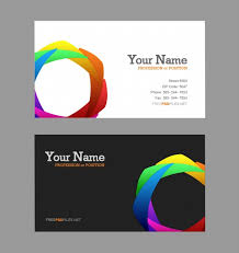 Free Online Business Card Maker Printable Color Concept Card Design Template Download Psd Eps Ai Cdr