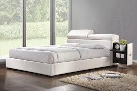 platform bed with built in nightstands model creative platform