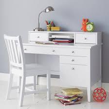 Land Of Nod Desk White Desks For Teenagers