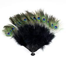 peacock fan peacock feather fan ebay