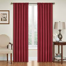 Big Lots Blackout Curtains by Amazon Com Eclipse 10707042x084rby Kendall 42 Inch By 84 Inch