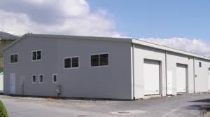 capannoni prefabbricati economici prefabbricati lamiera zincata o coibentati box auto ricovero