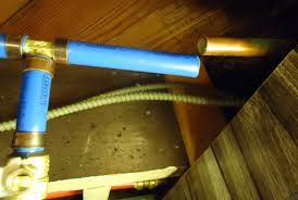 file pex pipes and valves in basement ceiling for exterior water