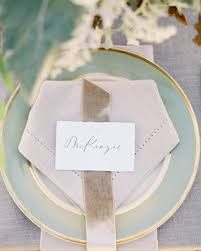 diy wedding place cards diy seating cards and displays martha stewart weddings