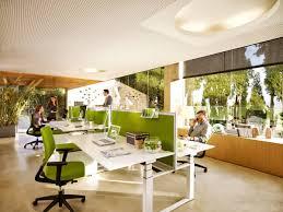 office small office space interior design modern office desk