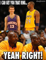 Kobe Bryant Memes - how the internet responded to kobe bryant steve nash lobshots