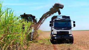 volvo truck ad self driving truck from volvo harvests sugar cane medium duty