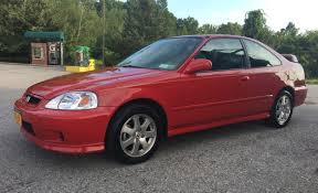 2000 honda civic si for sale on bat auctions sold for 9 500 on