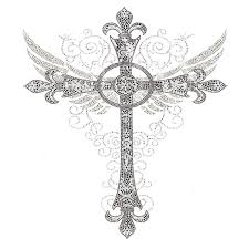 the 25 best cross with wings tattoo ideas on pinterest cross