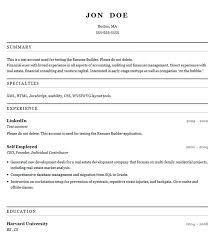Online Resume Templates Resume Templates Builder Resume Builder Resume Sample For