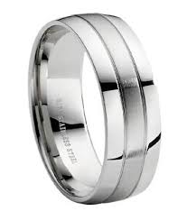 mens stainless steel wedding bands stainless steel wedding ring