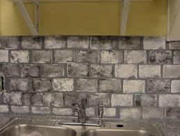 kitchen brick backsplash gray brick backsplash nana u0027s workshop