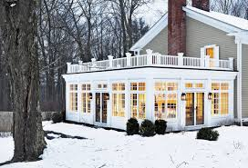 Sunroom Cost Crisp Architects Traditional Exterior New York By Crisp
